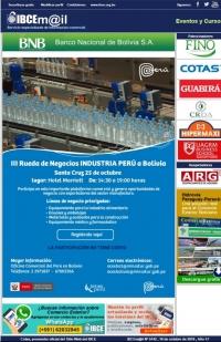Rueda de Negocios Industria Perú a Bolivia - Santa Cruz 25 de Octubre
