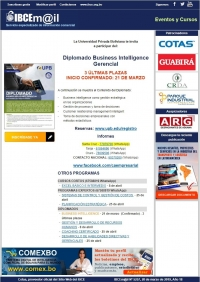 Diplomado Business Intelligence Gerencial