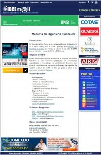 Maestría en Ingeniería Financiera