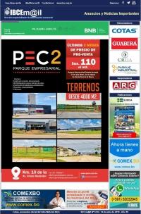Últimos 3 meses de precios de pre-venta de terrenos – Parque Empresarial PEC2