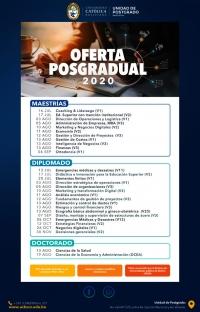 UCB - OFERTA POSGRADUAL 2020
