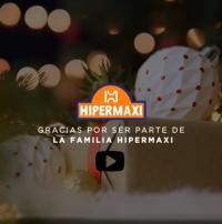 ¡Feliz Navidad! Gracias por ser parte de la familia Hipermaxi