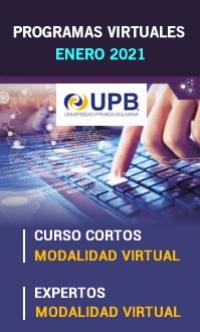 UPB - Programas Virtuales a aperturarse en enero de 2021