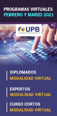UPB Diplomados, Expertos y Curso Virtuales (Inicio febrero)