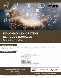 Diplomado Virtual en Gestión de Redes Sociales