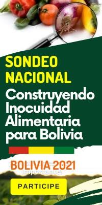 SONDEO NACIONAL: Construyendo Inocuidad Alimentaria para Bolivia