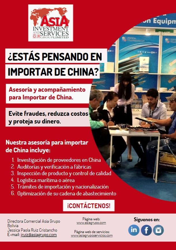 ¿Estás pensando en importar desde China?