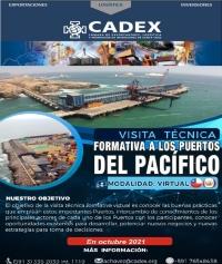 Visita Técnica Formativa Virtual a los Puertos del Pacífico