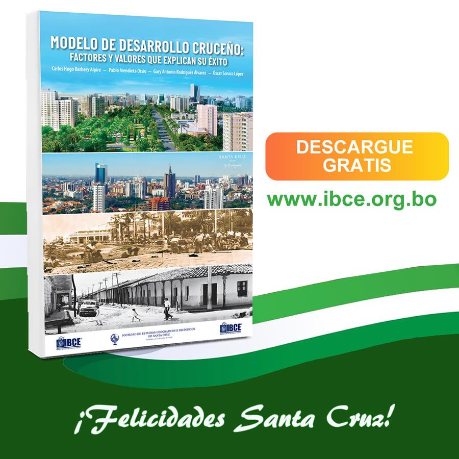 Libro: Modelo de Desarrollo Cruceño