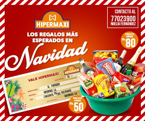 Vale Hipermaxi - Los regalos más esperados en Navidad