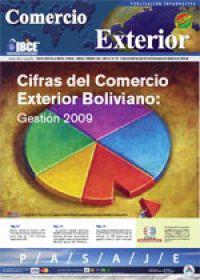 Cifras del Comercio Exterior Boliviano: Gestión 2009