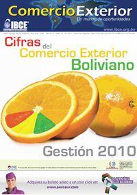 Cifras del Comercio Exterior Boliviano Gestión 2010
