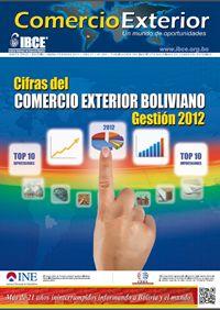 Cifras del Comercio Exterior Boliviano Gestión – 2012