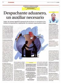 Despachante Aduanero un Auxiliar Necesario