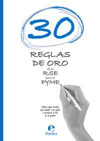 30 Reglas de Oro de la RSE para la Pyme