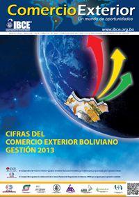 Cifras del Comercio Exterior Boliviano - Gestión 2013