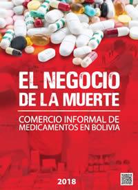 Imagen publicación El Negocio de la Muerte: Comercio informal de medicamentos en Bolivia