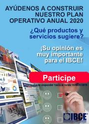Ayúdenos a construir el POA 2020 del IBCE ¿Qué productos y servicios sugiere?