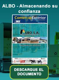 banner de Periódico Comercio Exterior:  ALBO - Almacenando su confianza