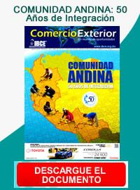 banner de Periódico Comercio Exterior: COMUNIDAD ANDINA: 50 Años de Integración