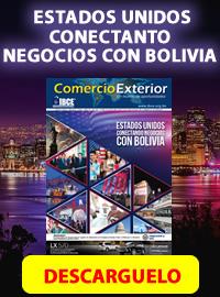 banner de Periódico Comercio Exterior: Estados Unidos conectando negocios con Bolivia