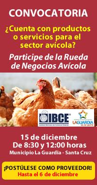 CONVOCATORIA: Postúlese como Proveedor de Productos y Servicios para el Sector Avícola del Municipio de la Guardia